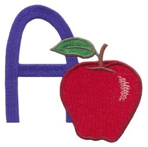 Children's Alphabet  Letter A - Apple (Large)