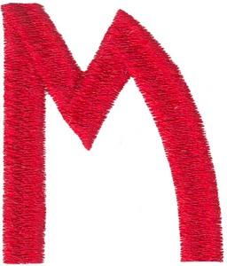 Arts & Crafts Alphabet - M