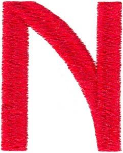 Arts & Crafts Alphabet - N