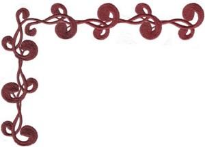 Swirls & Curls Embellishment #4 (Corner)
