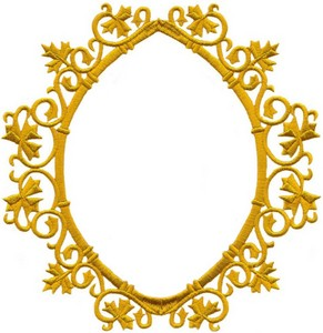 Ornate Maple Leaf Frame (Small)