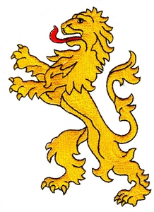 Lion from Coat of Arms
