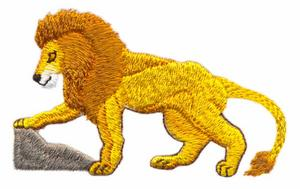 Lion Stepping
