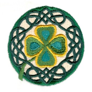 Clover Leaf Circle Large
