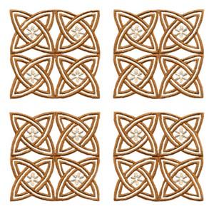Four Floral Knots