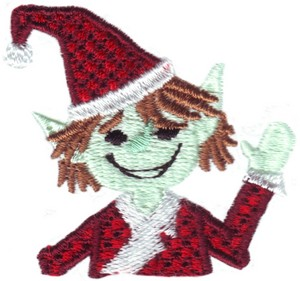 Pocket Christmas Elf