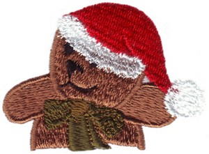 Pocket Christmas Teddy