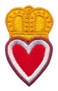Claddagh Heart ( Applique )