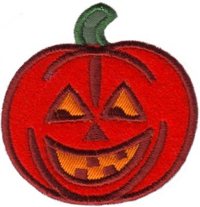 Pumpkin Applique