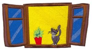 Window Cat ( Large )