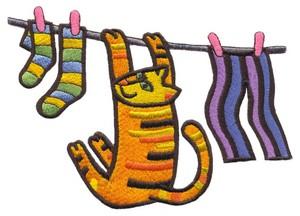 Cat Clothesline ( Large )