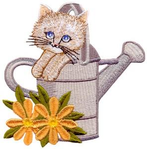 Watering Can Kitten