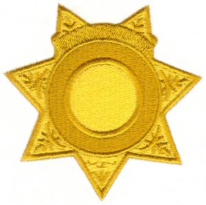 Sheriff Badge with Banner