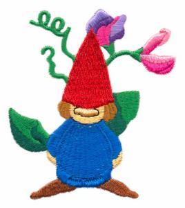 Sweat Pea Garden Gnome