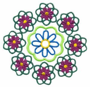 Nine Flower Circle