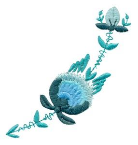 Flower Sprig ( Rosemaling )