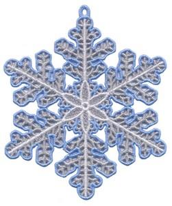 FSL - Snowflake Ornament #1 (freestanding)