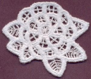 FSL - Flower 2 - Italian Lace (freestanding)