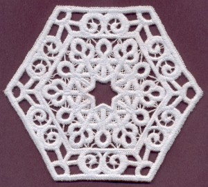 FSL - Lace Medallion #1 - Italian Lace (freestanding)
