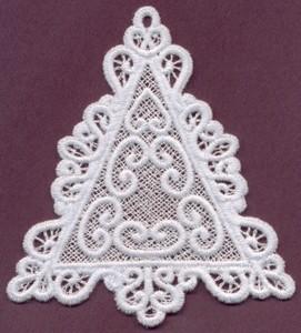 FSL - Lace Triangle #1 - Italian Lace (freestanding)