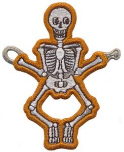 FSL - String Along Skeleton