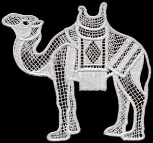 FSL - Italian Lace Camel (freestanding)