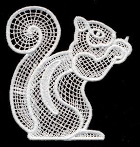 FSL - Italian Lace Squirrel (freestanding)