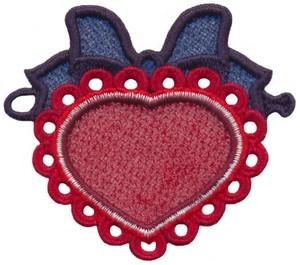 FSL - String Along Lace Heart