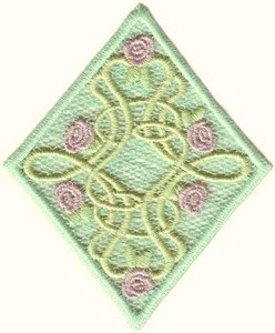 FSL - Briar Rose Diamond #1 w/border (Freestanding)