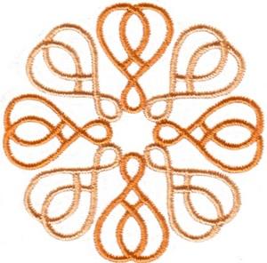 Chain Link Hearts (Circle)