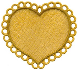 FSL - Heart ( freestanding )