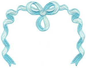 Ribbon Banner ( Large Hoop )
