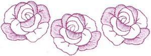 Rose Border Pocket Patch