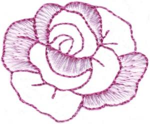 Rose Single Pocket Patch