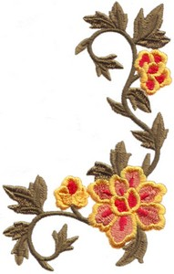 Floral Vine ( Back - part 1 )