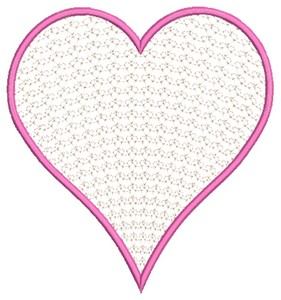 Heart (Square Hoop)