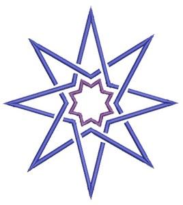 Star  (Square Hoop)