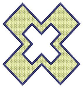 Open X (Square Hoop)