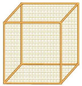 Cube (Square Hoop)