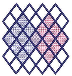 Lattice Squares (Square Hoop)