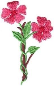 Victorian Scrapbook Floral Vine