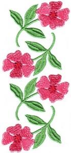 Victorian Scrapbook  Floral Border