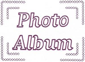 Photo Album Cover ( Diamond Corners )