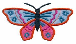 Article #1 Applique Butterfly
