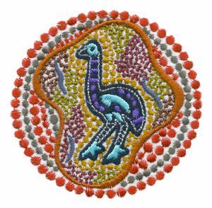 Emu Dot Art