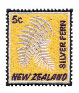 Silver Fern Stamp ( New Zealand )
