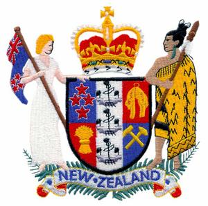 New Zealand Coat of Arms (Large)