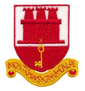 Gibraltor Coat of Arms ( Large )