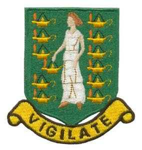 British Virgin Islands Coat of Arms ( Large )