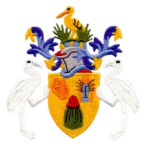 Turks & Caicos Coat of Arms ( Large )